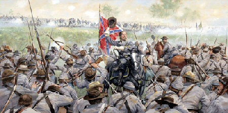 picketts charge essays Lee probably gambled on pickett's charge because he recognized that no more  throws of the dice of a strategic offensive would be possible his cumulative.